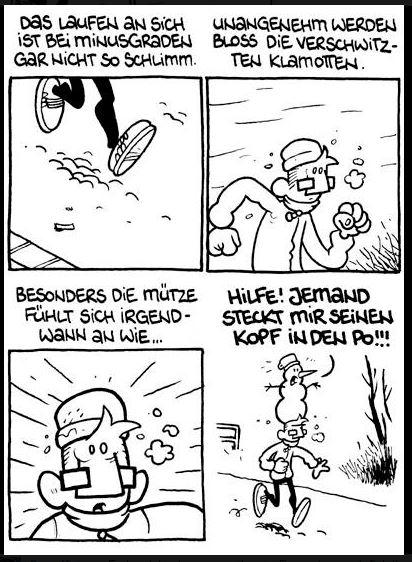 Comic-Strip von der Flix