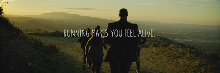 Running makes you feel alive
