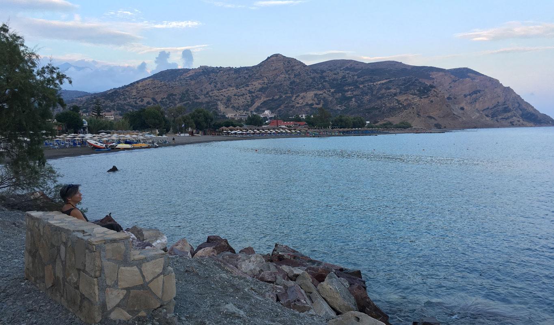 Strand von Agia Galini