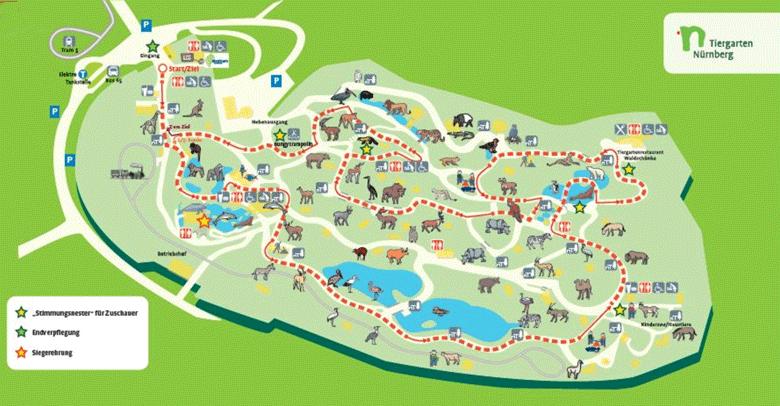 Strecke Tiergartenlauf