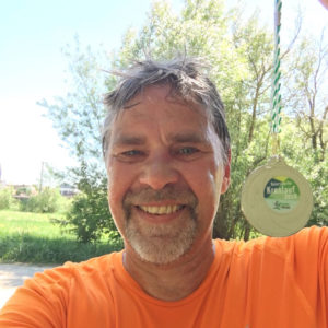 Jens mit Medaille