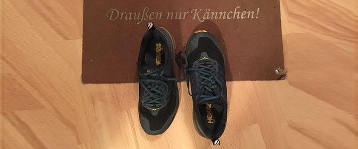 Neues Schuhwerk…